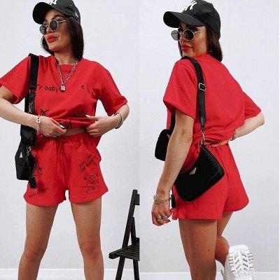 Мода размера plus size. Женская одежда до 70 размера🔥 — Костюмы с брюками, шортами, юбками