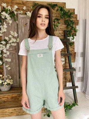 Комбинезон Бомбический комбинезон (идёт без футболки). Ткань: джинсовая. Производство: Китай