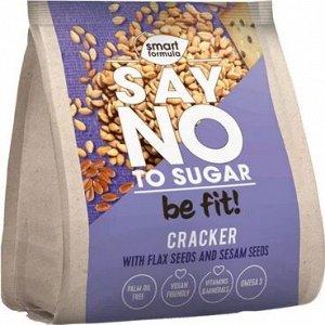 «Smart Formula», крекер Say no to sugar, со льном и кунжутом, 180 г