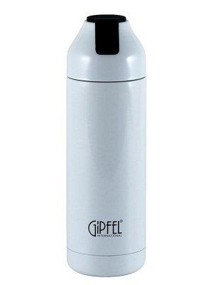 8188 GIPFEL Термос вакуумный PLAZMA 400мл. Материал: нержавеющая сталь 18/8. Цвет: белый