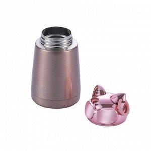 8389 GIPFEL Термос вакуумный KITTY 300мл. Материал: нержавеющая сталь 18/8. Цвет: розовый металлик