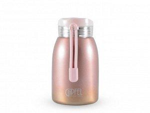 8294 GIPFEL Термос вакуумный SERRENITY 240мл. Материал: нержавеющая сталь 18/8. Цвет: розовый градиент