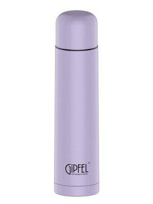 8393 GIPFEL Термос вакуумный ADELINA 1000мл. Материал: нерж. сталь 18/10, пластик. Цвет: фиолетовый