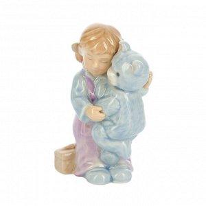41529 GIPFEL Статуэтка LOVE TEDDY 6x4x11 см. Цвет: мультиколор. Материал: фарфор