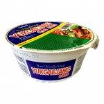 """Лапша б/п вкус говядины и свинины """"Bowl noodle soup. Yukgaejang ramen"""" 86г"""