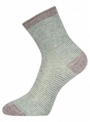 Носки высокие в полоску