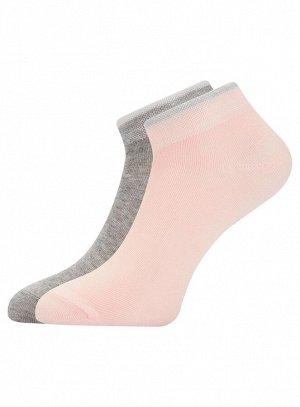 Носки (2 пары) с люрексом на резинке