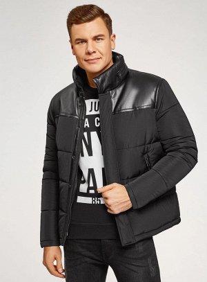 Куртка утепленная на молнии