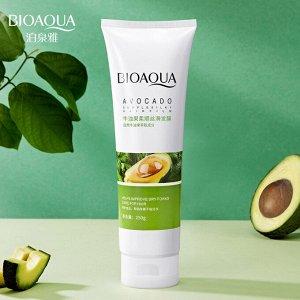 Питательная маска для волос с авокадо Bioaqua Avocado Supple Silky Hair Film 250гр