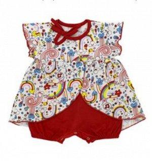 Боди-платье, кулирка, БК 012