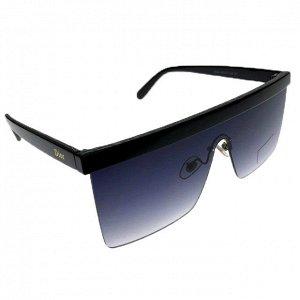 Женские квадратные очки оверсайз Grafika цвета тёмный индиго.