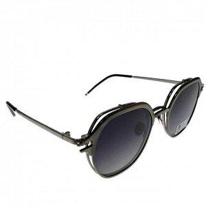 Женские очки Harv Vouge класса люкс с двойными линзами чёрного цвета.