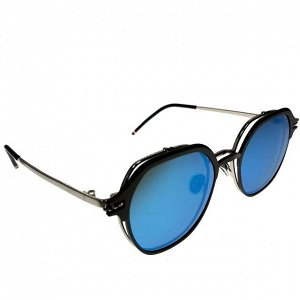 Женские очки Harv Vouge класса люкс с двойными линзами василькового цвета.
