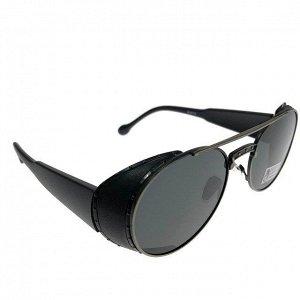 Женские очки Harv класса люкс с овальными чёрными линзами.