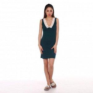 Сорочка женская, цвет изумруд, размер 42