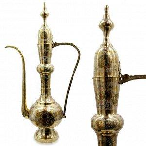 Кумган Саньсиндуй Чайник декоративный латунь 100см-56cм 9,650гр