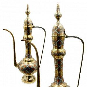 Кумган Саньсиндуй Чайник декоративный латунь 80см 5,200гр