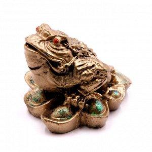 Фигурка Фен Шуй Жаба богатства символ процветания и изобилия 5см-7см 108гр ХРУПКОЕ