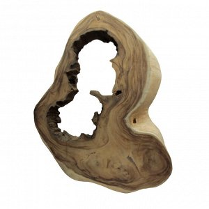Слэб для декора интерьера из ценных пород дерева Суар 103см-85см-8см 17.6кг