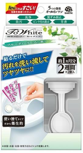 """685018 """"EARTH"""" """"ToWhite"""" Очиститель для унитаза (с ароматом листвы фруктовых деревьев) (3,6 гр х 2)"""