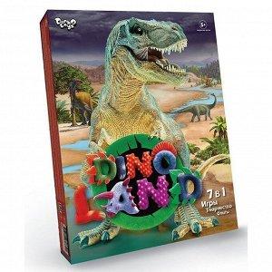 Игра 7 в 1 Игры,Творчество,Опыты,серии Dino Land /АльянсТрест/