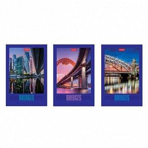 Блокнот 40 л. А6 Мосты мира 057231 Hatber