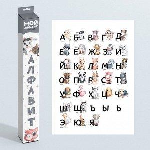 Плакат 31702 Мой алфавит классик