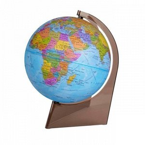 Глобус политич. 210мм на треуг.подставке 10277