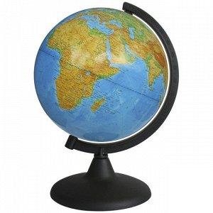 Глобус физич. 210мм 10005