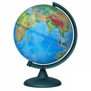 Глобус физич. 250мм 10160