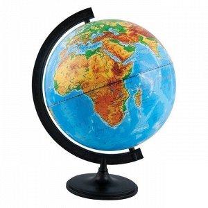 Глобус физич. 320мм 10013