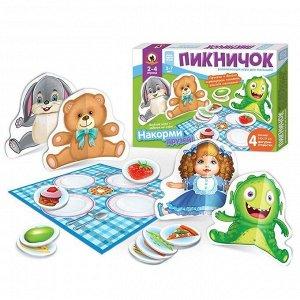 Игра с объемными фигурками «Пикничок» 02090