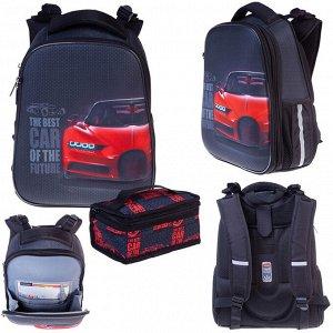 Рюкзак ERGONOMIC Classic-Best car 37х29х17см с термосумкой 60112 Hatber
