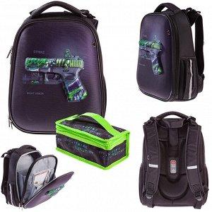 Рюкзак ERGONOMIC Classic-Strike 37х29х17см с термосумкой  60004 Hatber