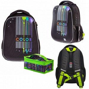 Рюкзак ERGONOMIC Light-Color art 38х29х15см с термосумкой 60023 Hatber