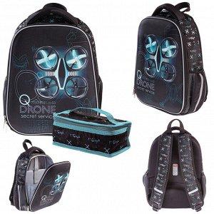 Рюкзак ERGONOMIC Light-DRONE 38х29х12,5см с термосумкой 60015 Hatber