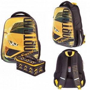 Рюкзак ERGONOMIC Light-Top Speed 38х29х12,5см с термосумкой 60002 Hatber