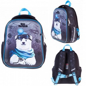 Рюкзак ERGONOMIC MINI-Bear travel 35х27х13см с термосумкой 62063 Hatber