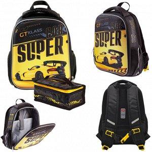 Рюкзак ERGONOMIC MINI-Supercar 35х27х13см с термосумкой  62062 Hatber