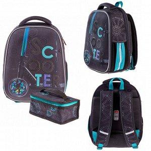 Рюкзак ERGONOMIC Plus-Скутер 38х29х16см с термосумкой 60021 Hatber