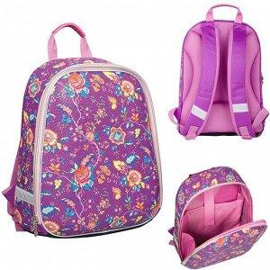 Рюкзак ортопед  Expert Light Purple bubbles 37*27*15см RU038031 Berlingo