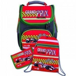 Рюкзак + пенал + мешок д/обуви Красный болид 36349