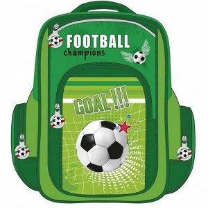 Рюкзак школьный Футбольный мяч Р-8340