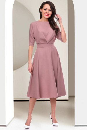 Платье Леди Лаура (лиловая пудра)