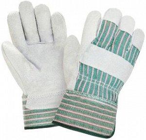 Перчатки ТРАЛЛ, (0112/Р2000), спилок, х/б, жесткий  манжет, подкладка