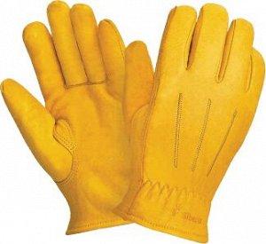 Перчатки ДРАЙВЕР КМ, (RL 7,Драйвер К Люкс), кожа класс А+, искуственный мех