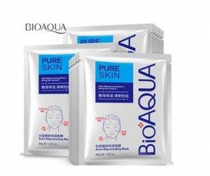 Маска для лица анти-акне для проблемной кожи bioaqua