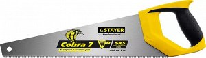 Ножовка универсальная STAYER COBRA-7 GX700 400 мм