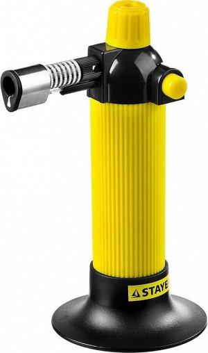 STAYER MaxTerm 30 автономная портативная газовая горелка с пьезоподжигом