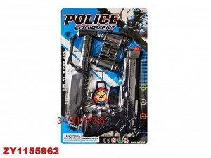 Набор полицейского 704-1 на блист.
